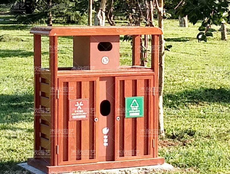 环保铝合金垃圾箱