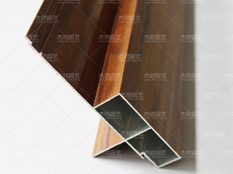 木纹铝合金爱博体育竞猜推荐材料带筋侧板