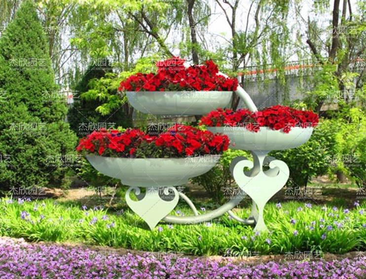 铁艺花架——民族风