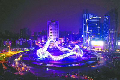 武汉光谷广场隧道爱博体育竞猜推荐工程
